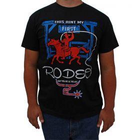 Camiseta 2K Jeans Masculina Preta Rodeo