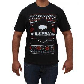 Camiseta Gringa's Western Masculina Aztec Black