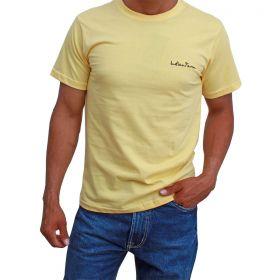 Camiseta Indian Farm Básica Amarela