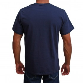 Camiseta Indian Farm Masculina Azul Marinho Team Roping