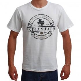 Camiseta Indian Farm Masculina Bege Authentic