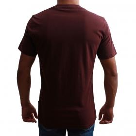 Camiseta Indian Farm Masculina Bordô