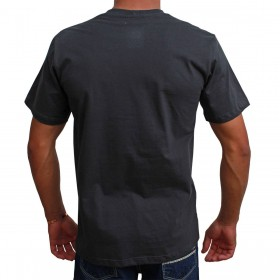 Camiseta Indian Farm Masculina Cinza Chumbo Team Roping