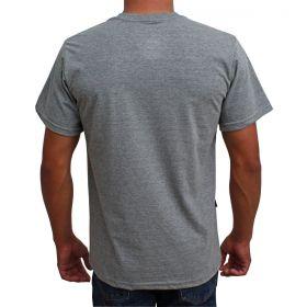 Camiseta Indian Farm Masculina Cinza Pro Rodeio