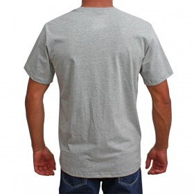 Camiseta Indian Farm Masculina Cinza Texas IS