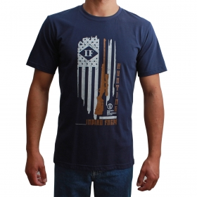 Camiseta Indian Farm Masculina Hunting Azul Marinho