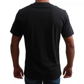Camiseta Indian Farm Masculina Preta De Cocar