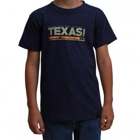 Camiseta Infantil Texas Farm Azul Marinho Nature