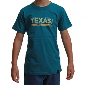 Camiseta Infantil Texas Farm Verde Nature