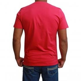 Camiseta Masculina Básica Pink
