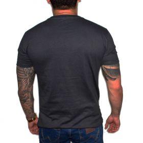 Camiseta Stayrude Masculina Cinza Tradiotinal
