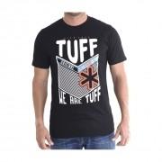 279b80b56a250 Camiseta Masculina Preta Stripe Grade Black Tuff