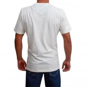 Camiseta Masculina Riverton Básica Creme