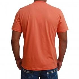 Camiseta Masculina Riverton Básica Laranja