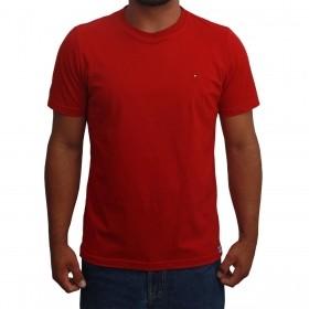 Camiseta Masculina Riverton Básica Vermelha