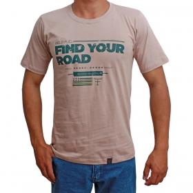 Camiseta Masculina Texas Farm Bege Fien Your
