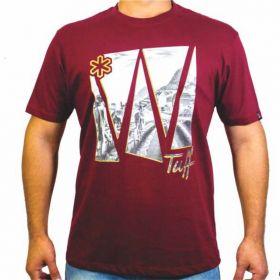 Camiseta Tuff Masculina Bordô Landscape