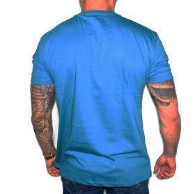 Camiseta Stayrude Masculina Turquesa Usa