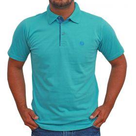 Camiseta Polo Classic Azul Claro