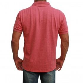 Camiseta Polo Masculina Marsala