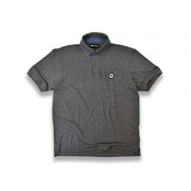 Camiseta Polo Gringa's Western Masculina Plc Gunmetal