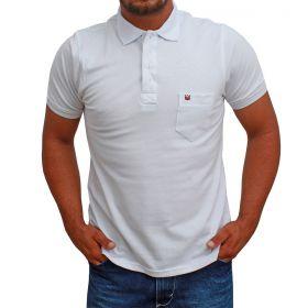 Camiseta Polo Os Vaqueiros Branco