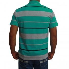 Camiseta Polo Os Vaqueiros Masculina Turquesa