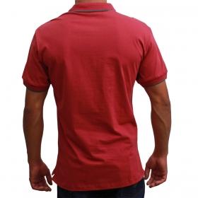 Camiseta Polo Wrangler Bordô