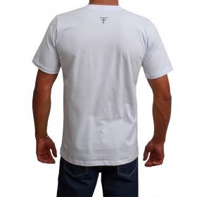 Camiseta Texas Farm Masculina Branca The Country
