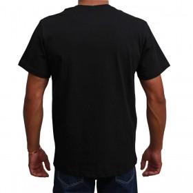 Camiseta Texas Farm Masculina Preta Logo Verde