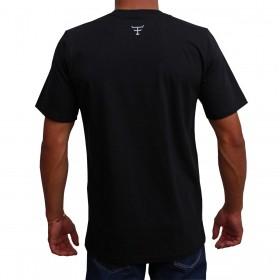 Camiseta Texas Farm Masculina Preta Route