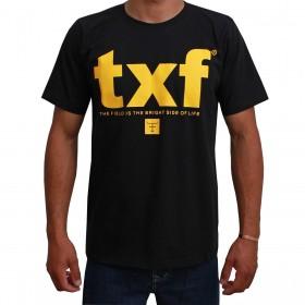 Camiseta Texas Farm Masculina Preta TXF
