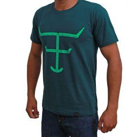 Camiseta Texas Farm Masculina Verde