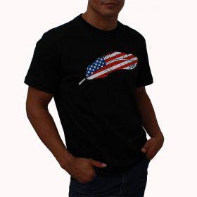 Camiseta Tuff Masculina Preta Pena USA
