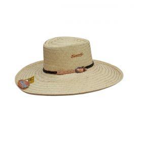 Chapéu Karandá Campeiro Pequeno Banda Marrom