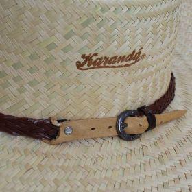 Chapéu Karandá Pequeno Banda Marrom