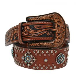 Cinto Arizona Belts Com Pedra Azul e Furta Cor