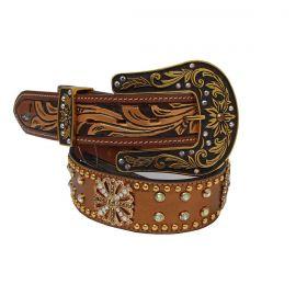 Cinto Arizona Belts Feminino Dourado
