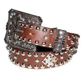 Cinto Arizona Belts Feminino Café 7104
