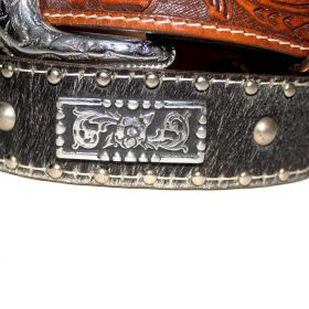 Cinto Arizona Belts Preto Marrom 7011