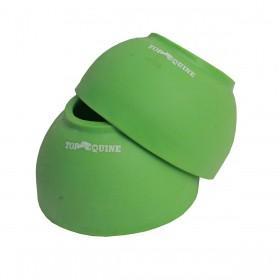 Cloche Top Equine De Borracha Verde