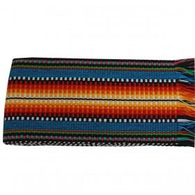Faixa Paraguaia Boiadeira Colorida Preta