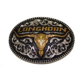 Fivela Country Longhorn 8898 Sumetal