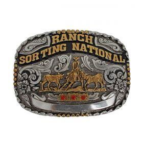 Fivela Master Western Quadrada Ranch Sorting National