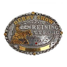 Fivela Master Western Redonda Reining Strong