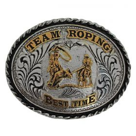 Fivela Master Redonda Team Roping Best Time