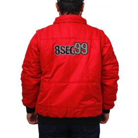 Jaqueta 8 Segundos Masculina Vermelha
