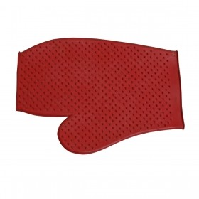 Luva De Borracha Vermelha