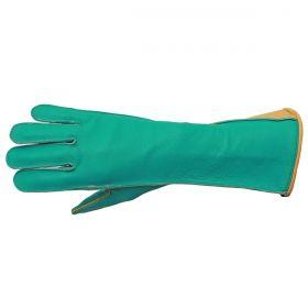d031bd3fa Luva De Montaria Guilherme Marchi Mão Direita Verde Logo Dourado