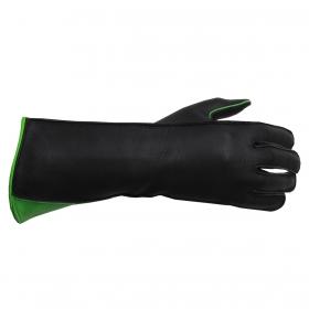 Luva De Montaria Guilherme Marchi Mão Esquerda Preta Com Verde